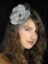 Grey & Silver Fascinators